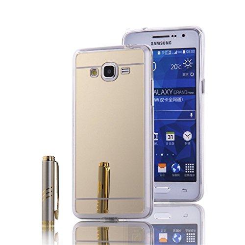 LXHGrowH Funda Samsung Galaxy Grand Prime, [Ultra Delgada] Carcasa con Espejo...