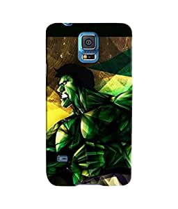 Sketchfab The Hulk Latest Design High Quality Printed Soft Silicone Back Case Cover For Samsung Galaxy S5