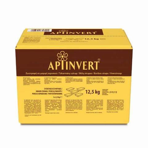 Apiinvert Bienenfutter Karton à 5 x 2,5 kg