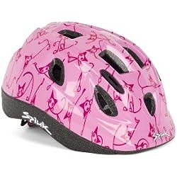 Spiuk Kids - Casco de ciclismo para niños, color rosa, talla 48 - 54