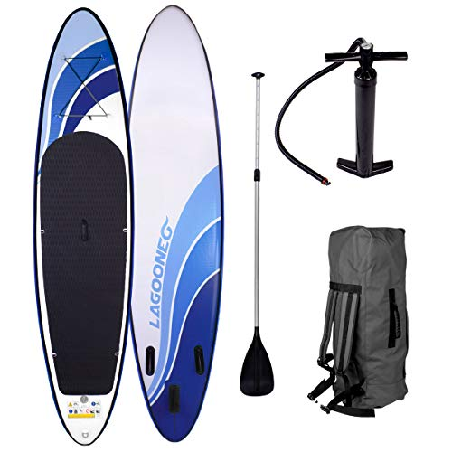 BRAST SUP Board Stand Up Paddling Board GLIDER 300 im Test