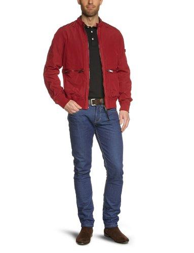 Strellson Sportswear Herren Jacke Regular Fit 14000835/Transit, Gr. 52, Rot (162)