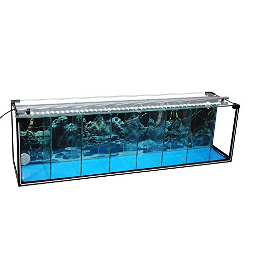 Komplettset Aquarium Zucht-Becken Betta 38 L, Garnelen-, Aufzucht-, Kampffisch-Aquarium inkl. LED-Lampe und Luftpumpe