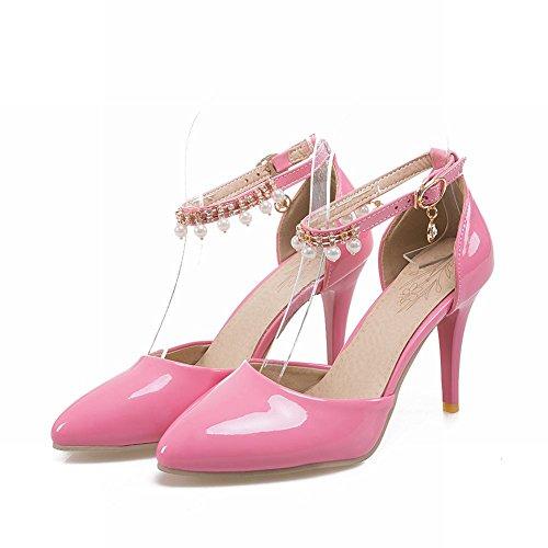 MissSaSa Donna Scarpe col Tacco Alto Elegante e Sexy Rosa