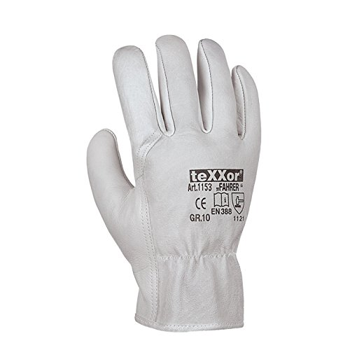 "24 Paar - Rindnappaleder-Handschuhe, ""FAHRER"" - teXXor® - 1153 - Größe 11"