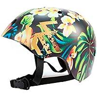 KRF The New Urban Concept Tropic Casco Multideporte Skate | Patinaje | Bicicleta | Monopatin, M (54-58CM)