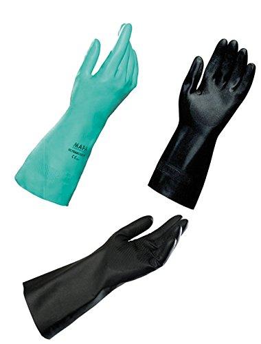 dutscher 430051MAPA chemischen Schutz Handschuhe–Butyl–Butoflex 650–Größe 10–Ein Paar
