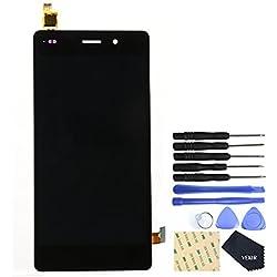"""VEKIR Touch Screen Display Digitizer Remplacement de l'écran pour Huawei P8 lite ALE-L21 5.0""""(black) NOT FOR VERSION:Huawei P8 Lite (2017) 5.2"""""""