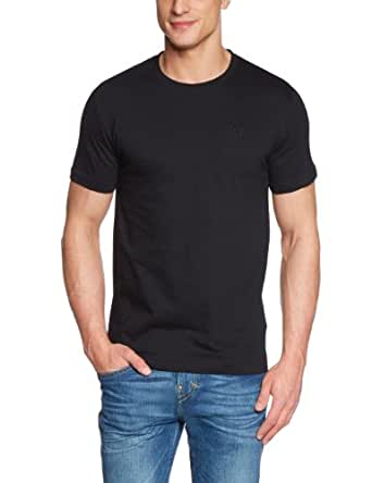 Strellson Sportswear Herren T-Shirt 2 er PackRegular Fit 14000728 / J-Two Pack-R, Gr. 48 (S), Schwarz (110)