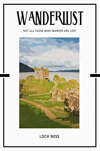 Loch Ness: Trip Visit Souvenirs Bullet Journal Dot Grid BuJo Daily Planner