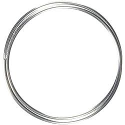 Sourcingmap a14051400ux0478 - 2 mm de diámetro tono plateado varilla de electrodo de soldadura de cobre y aluminio