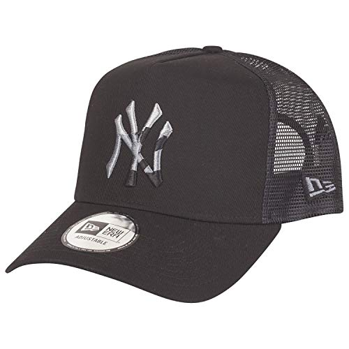 New Era Camo Infill Trucker Cap NY Yankees Schwarz, Size:ONE Size -