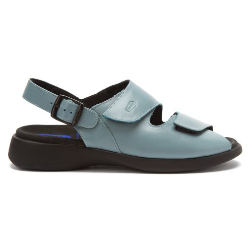 Wolky  Move, Mocassins pour femme 389 sky blue leather