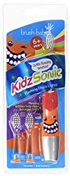 Brush Baby Red Kidz Sonic Electric Toothbrush