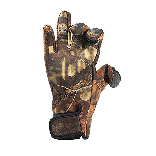 41NRec9mE0L. SS500  - 1 Pair Winter Diving Fishing Gloves Shockproof Waterproof Anti Slip Warm Windproof Outdoor Hunting Camping Hiking