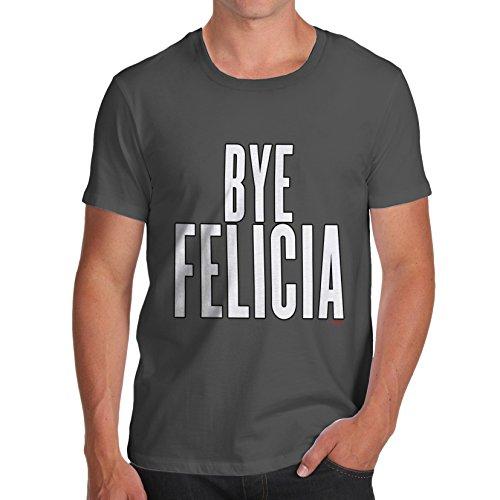 Herren Bye Felicia T-Shirt Dunkelgrau