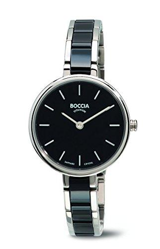 Boccia Damen-Armbanduhr Analog Quarz Verschiedene Materialien 3245-02