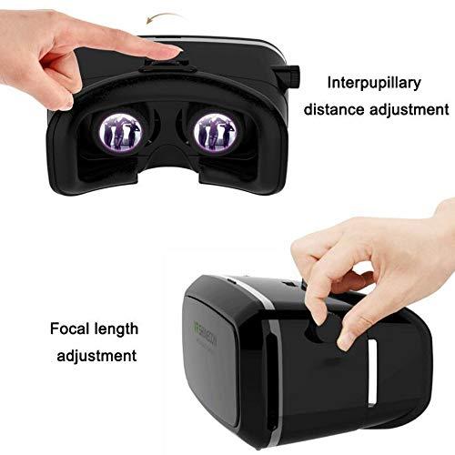 DJGHPWP VR VR Brille Virtuelle Realität VR 3D Brille 3D Pappe Virtuelle Realität VR Brille Box für 4-6 \'Mobile Smart Phone