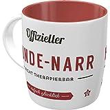 Nostalgic-Art 43038 PfotenSchild - Hunde-Narr| Retro Tasse für Hunde-Liebhaber | Kaffee-Becher | Geschenk-Tasse | Vintage