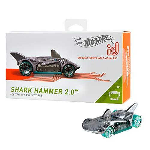 Hot Wheels iD FXB11 - Die-Cast Fahrzeug 1:64 Shark Hammer 2.0 mit -