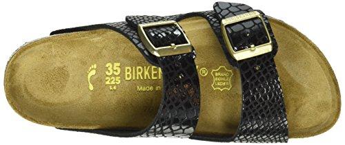 Nero Shiny Birkenstock Snake Donna Sandali Arizona Black Snake Black Shiny xT7w6qY7n