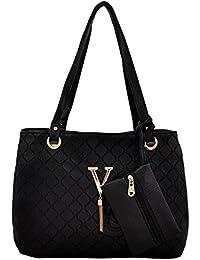 Mark & Keith Women Black Handbag (MBG 0494 BK)