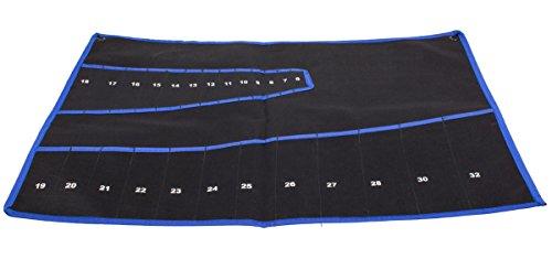 Ring Maulschlüssel Werkzeug Tasche für 25 Ring Schlüssel Rolltasche