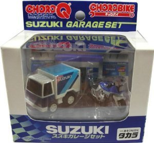 Choro Bike Suzuki garage set (japan import)
