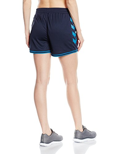 Hummel Damen Sirius Shorts Total Eclipse/Methyl Blue