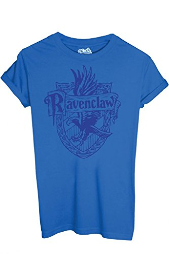 T-Shirt RAVENCLAW HARRY POTTER - FILM by iMage Dress Your Style - Bambino-XS-BLU ROYAL