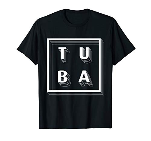 Tuba Spieler Lehrer Geschenk Bügelhorn Tubist Tuben Bariton T-Shirt