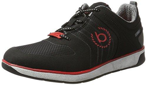 bugatti-herren-322307015459-sneaker-schwarz-black-black-42-eu