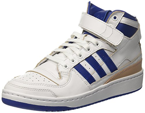 adidas Forum Mid (Wrap), Chaussures de Gymnastique Mixte Enfant Multicolore (Ftwr White/collegiate Royal/ftwr White)