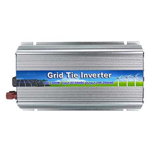 perfk Spannungswandler 1000W Wechselrichter DC 22-50V Power Inverter Converter (390x205x115mm) -