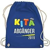 Einschulung - Kita Abgänger 2019 2 - Unisize - Royalblau - WM110 - Turnbeutel & Gym Bag