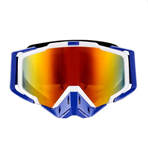 Tmei Professional Sports Googles Eyewere Lunettes pour motocross Procédés hors route Casque Enduro ATV Dirt Bike Motorcycle