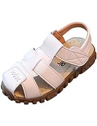 Logobeing Zapatos 1-3 Años, Bebé Niños Moda Zapatillas Niños Chicos Niñas Verano Sandalias Casuales Zapatos