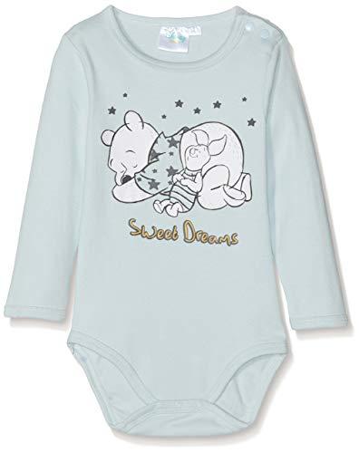Disney Baby-Jungen Formender Body 2136 Bleu, 12-18 Monate (Winnie Puuh Kostüm Babys)