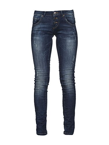 M.O.D. Damen Jeans Ulla - Slim Fit - Blau - Strong Blue, Größe:W 29 L 32;Farbe:Strong Blue (1859)