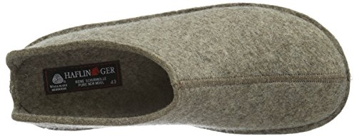 Haflinger Smily, Chaussons Mules Mixte Adulte Beige (550 Torf)