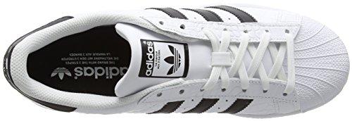 adidas Superstar, Scarpe da Corsa Uomo Multicolore (Ftwr White/Core Black/Core Black)