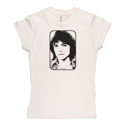 David Cassidy Womens Fitted T-Shirt Weiß
