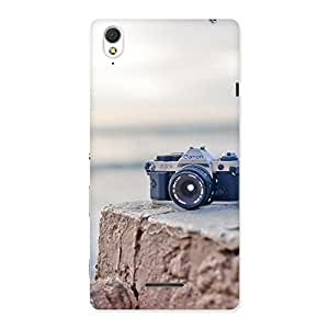 Special Vintage Camera Multicolor Back Case Cover for Sony Xperia T3