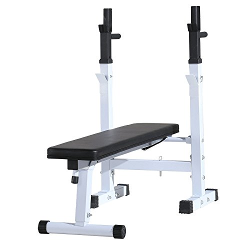 Schindora Weight Bench Folding Workout Heavy Duty for Shoulder Chest Bench Press Home Exercise...