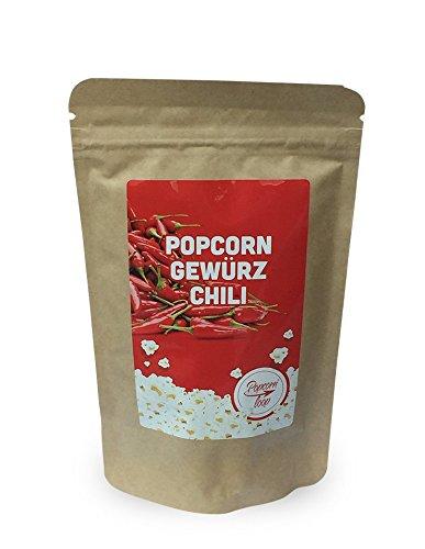 Popcornloop Gewürz 'Chili', Neuer & Leckerer Geschmack für ihr Popcorn!....