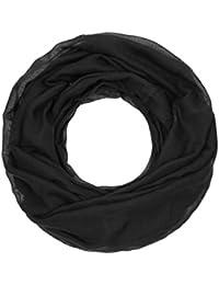 Majea Loop Cary Basic Schal Tuch Damen-schal Schlauchschal Rundschal Halstücher uni unifarben Loopschal einfarbig