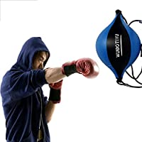 ZY Speed ​​Ball Boxe en Cuir PU Formation Striking Sac Suspendu Pivotant Entra/înement De Boxe Speedball Balles De R/éaction