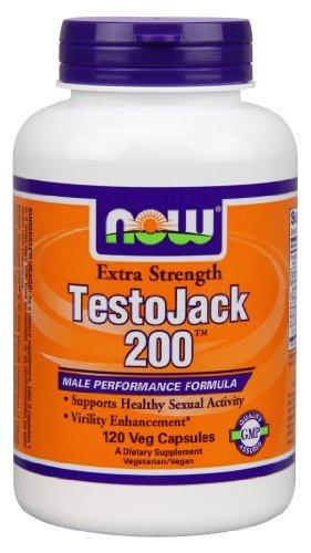 NOW NF TestoJack, 200, 120 vcapsules