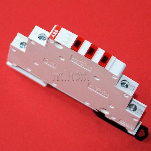 LED Farben: rot//rot//rot E219-B E219-3C Leuchtmelder weiß ABB Leuchtmelder