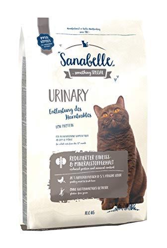 Sanabelle Urinary | Katzentrockenfutter für ausgewachsene Katzen mit empfindlichem Harnsystem, 1er Pack (1 x 10000 g)